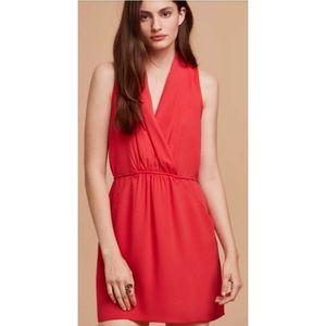 Aritzia Wilfred Sabine dress in raspberry